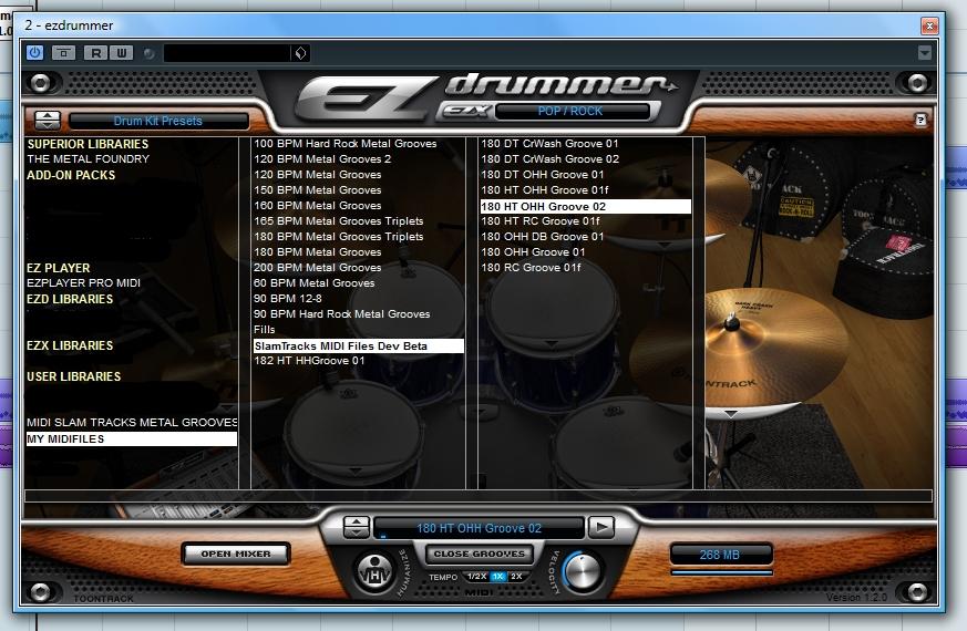 EZ Drummer Installation