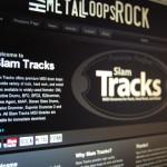 Slam Tracks Site Screen Shot